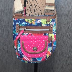 NWOT Lily Bloom Floral Crossbody Bag